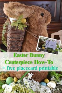 Easter bunny centerpiece how to