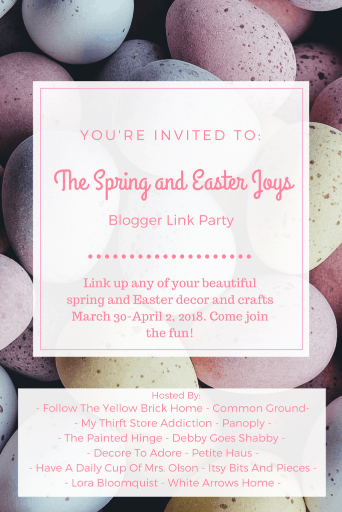Spring and Easter Joys link party