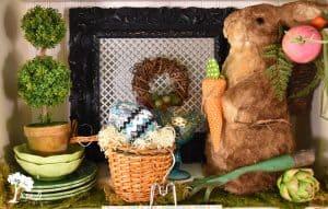 Easter Rabbit Display