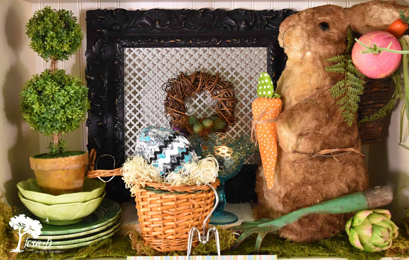 Easter Rabbit Display