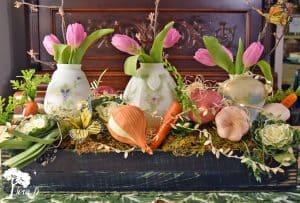 Veggie Centerpiece Arrangement