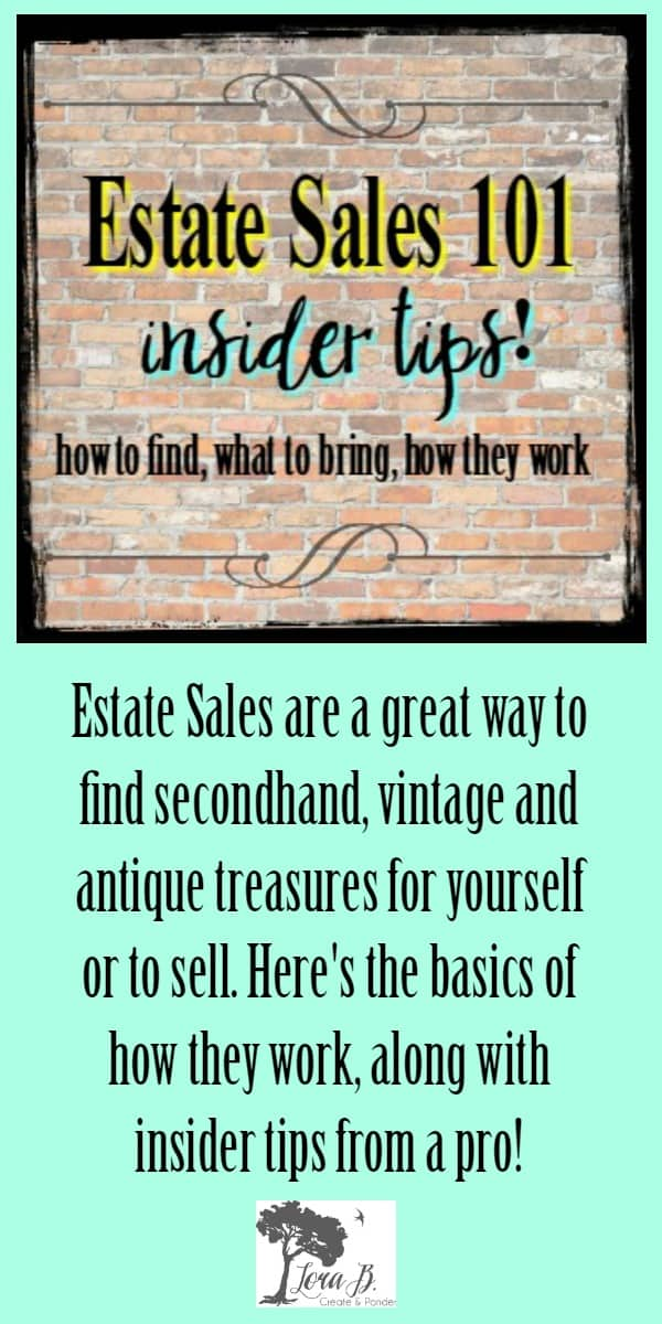 Estate Sales How To