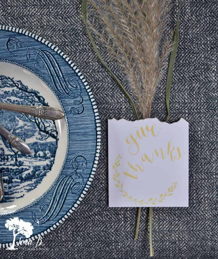 thanksgiving free placecards