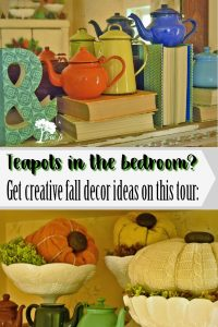 Fall Colored Brights in the Bedroom