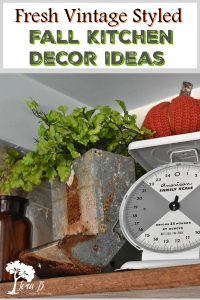 vintage style kitchen decor idea