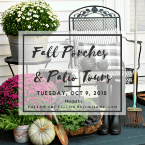 Fall Porch and Patio Tour