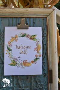 Easy Fall Decorating, Fall Printables