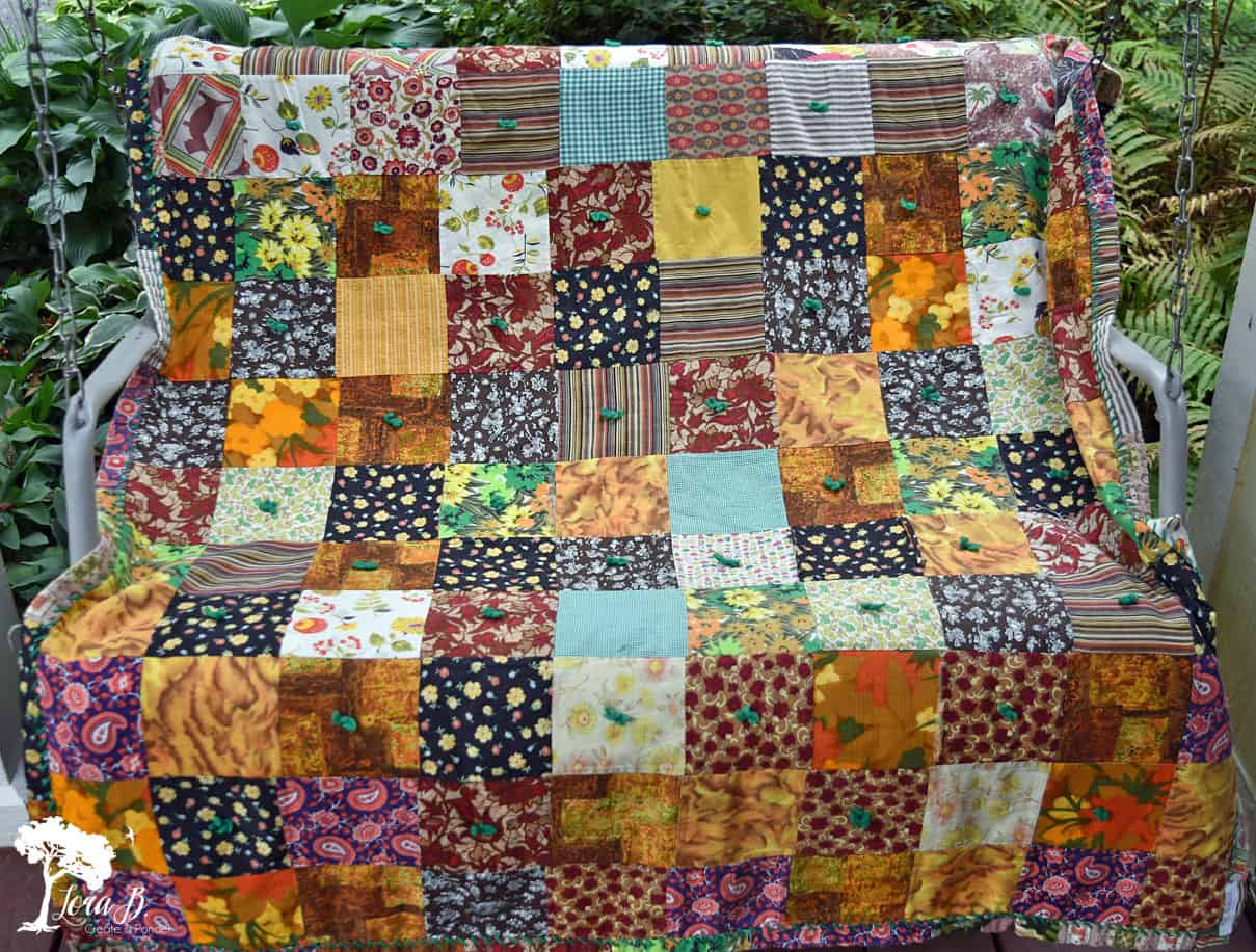 How to Easily Fix an Old Patchwork Quilt