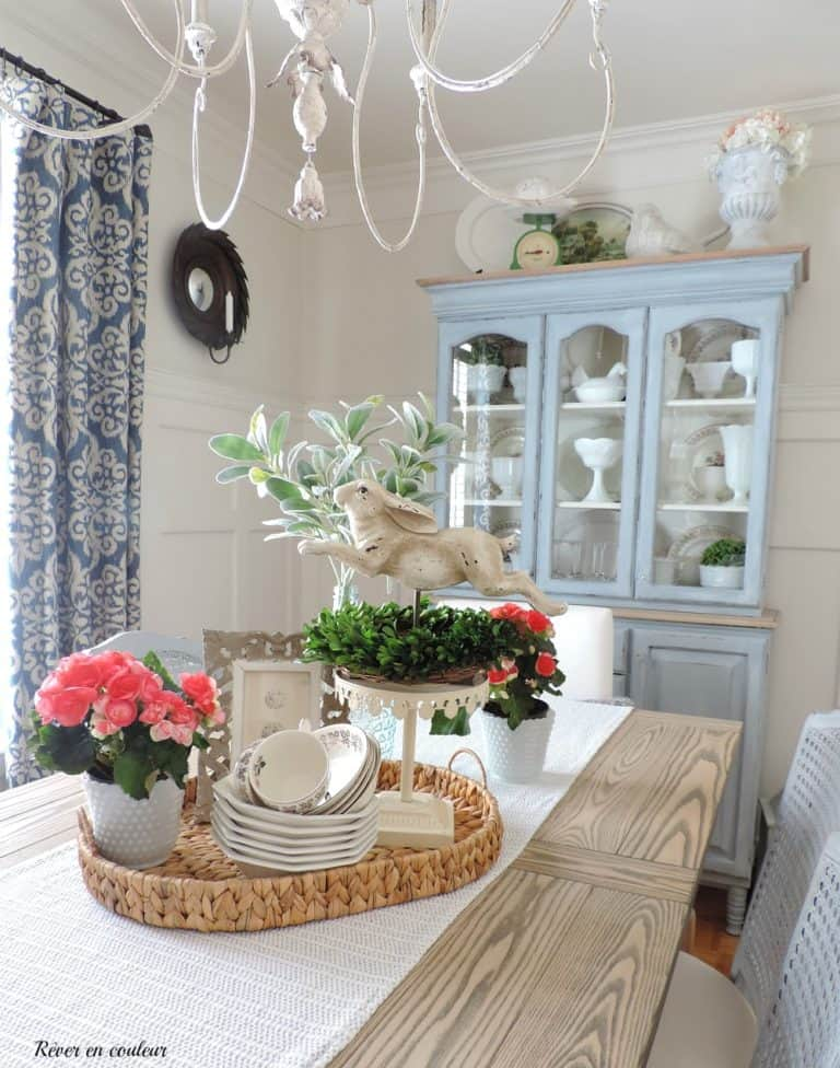 Springtime Dining Room