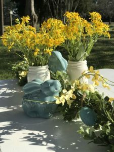 Outdoor Easter Table