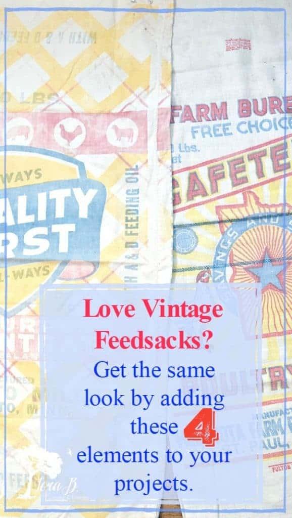 vintage feedsacks