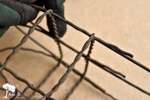 Vintage Fencing square DIY