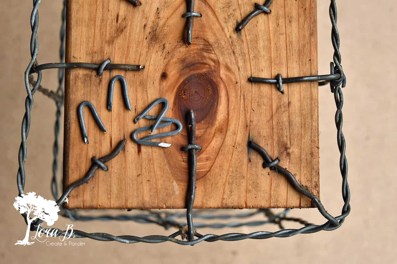 Vintage Fencing Squares DIY