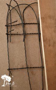 DIY vintage fencing square