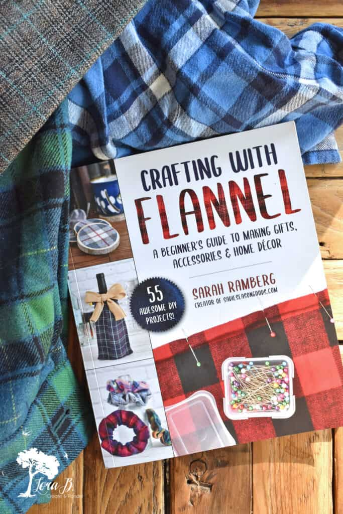 Flannel crafts book to make DIY Plaid Flannel Coasters