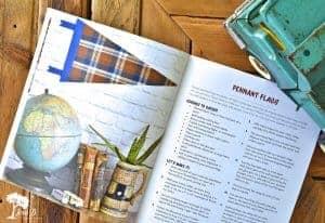 flannel crafts book