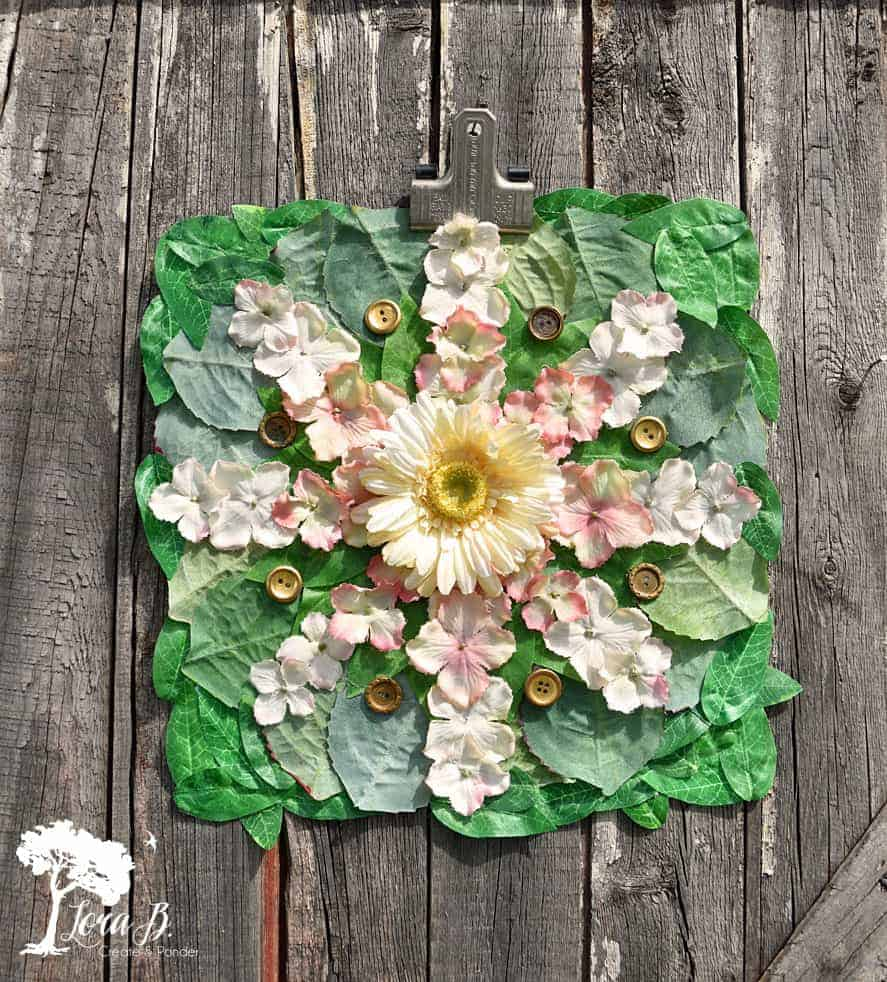 faux foliage art how-to