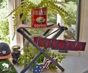 vintage patriotic decor ideas