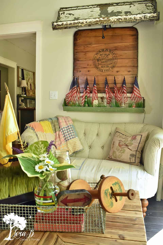 patriotic summer decorating ideas