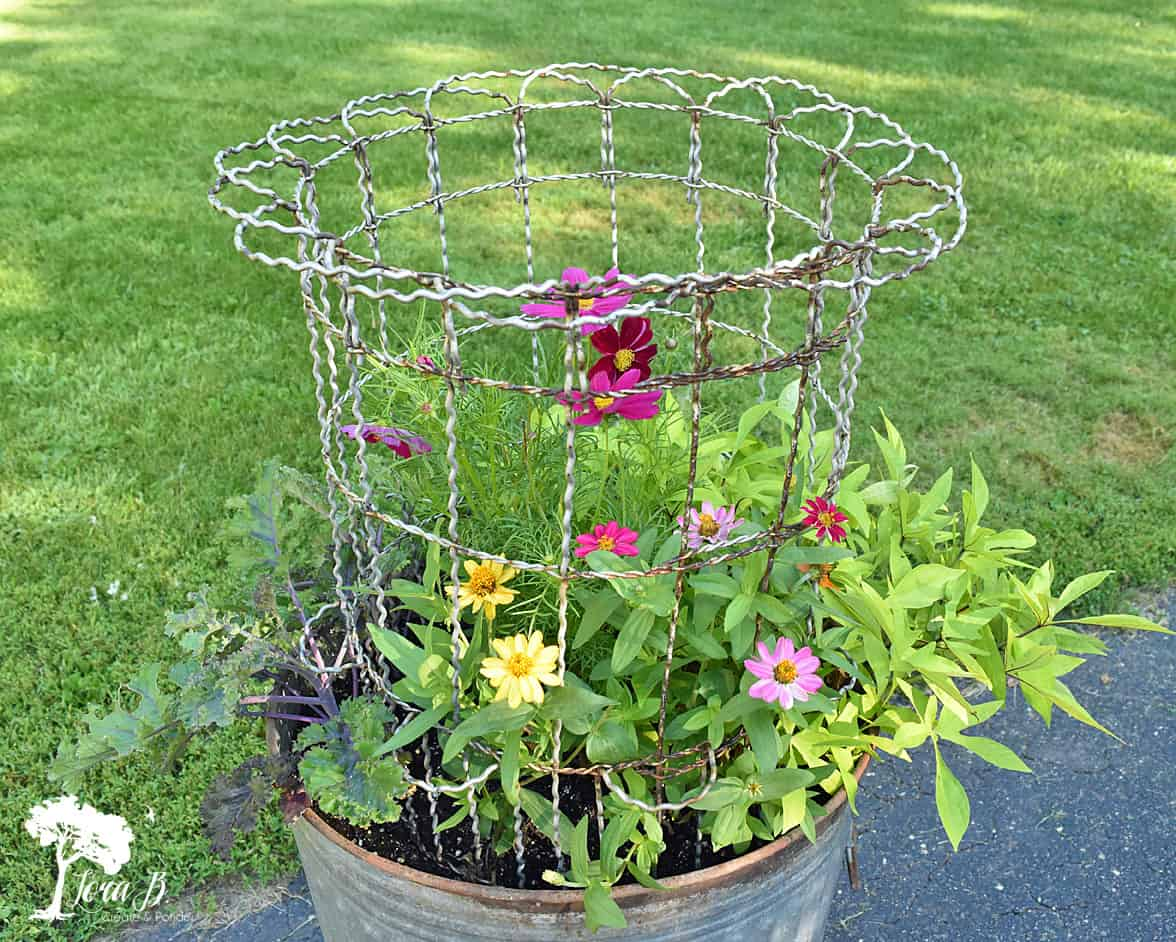 Garbage Can Planter