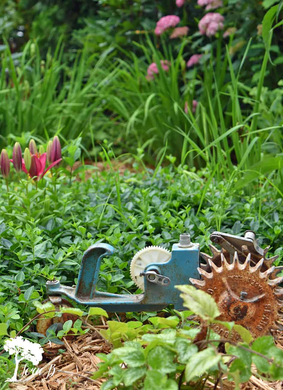 decorating ideas for old garden tools