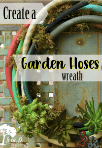 Garden Hoses Wreath