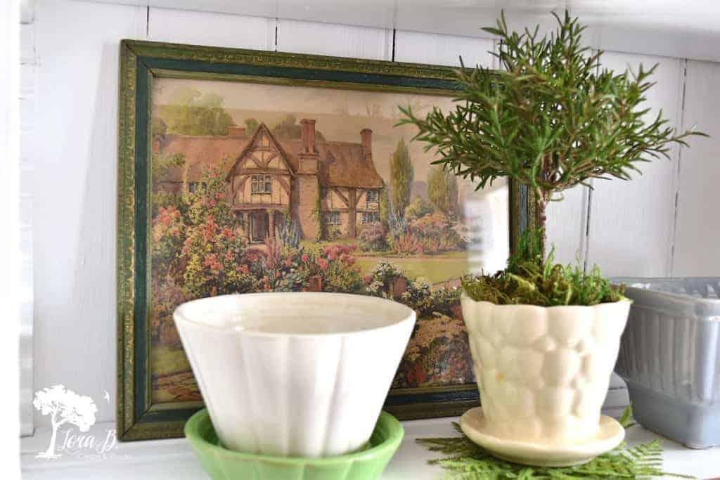 vintage pottery