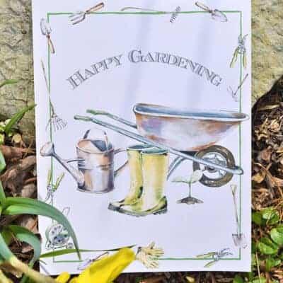Garden-Inspired Gift Ideas for Mom + Free Printable