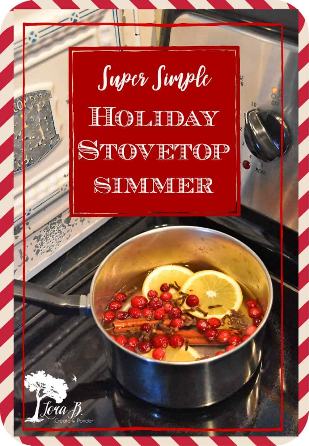 Super Simple Holiday Stovetop Simmer