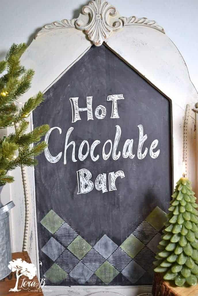 Christmas hot chocolate bar ideas