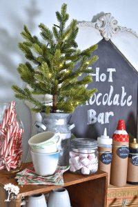 Christmas hot chocolate bar ideas