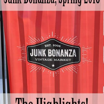 Junk Bonanza, Spring 2018 Minneapolis, MN