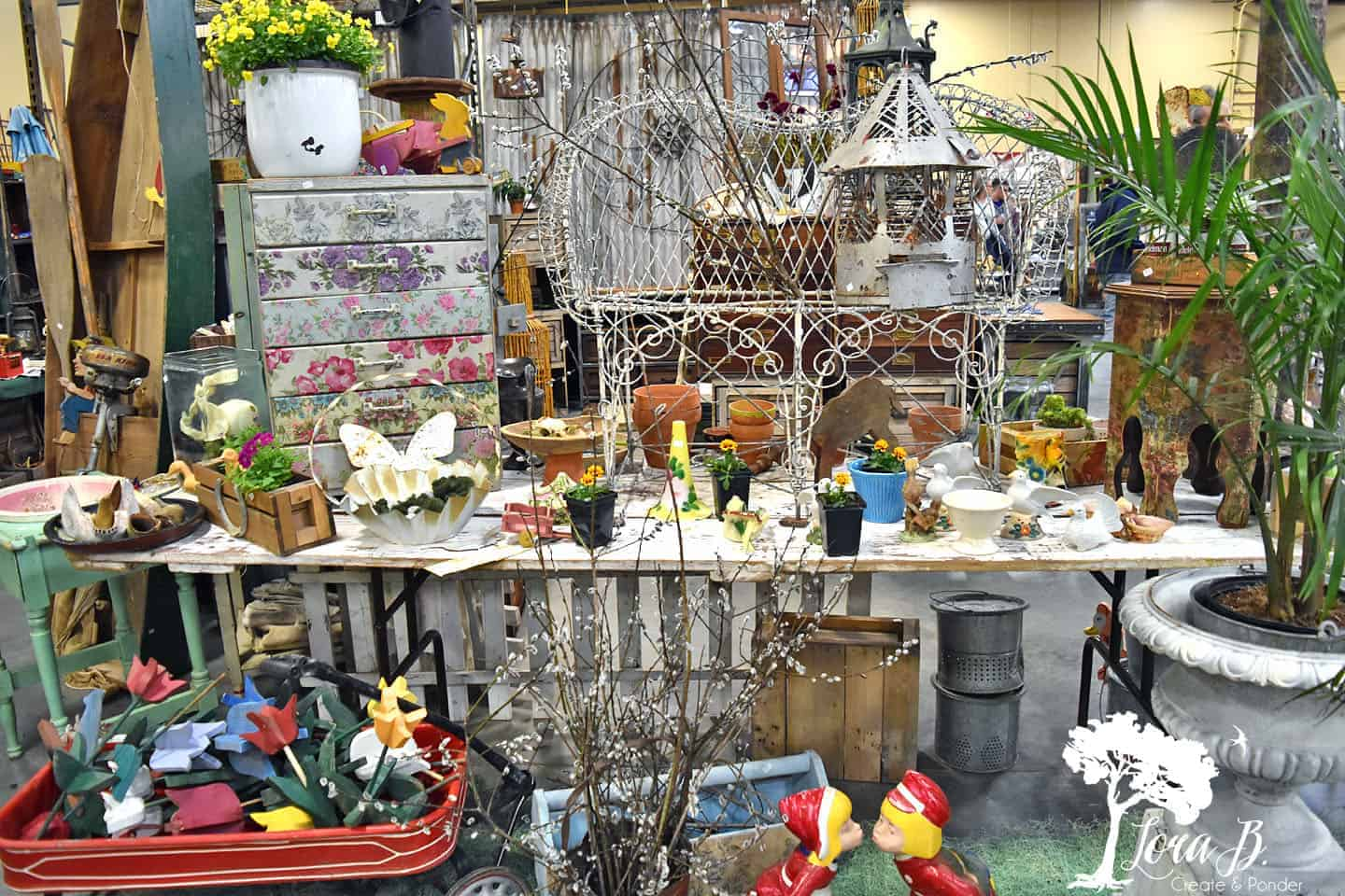 fairy garden market display