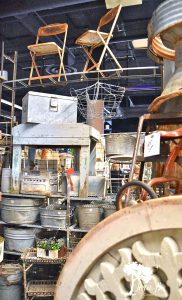 vintage market display