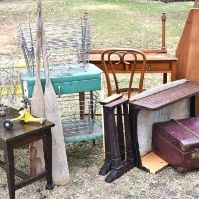 Curbside Junking Vintage Finds (best ever)
