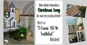 Christmas Song Decorating in the Kitchen