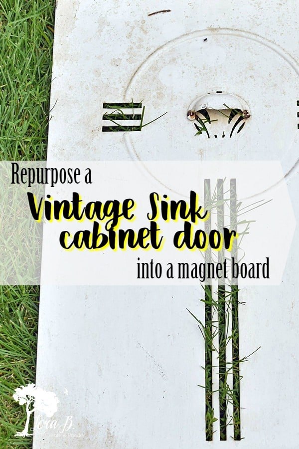 Kitchen Sink Magnet Board