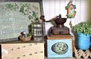 vintage bird accesories