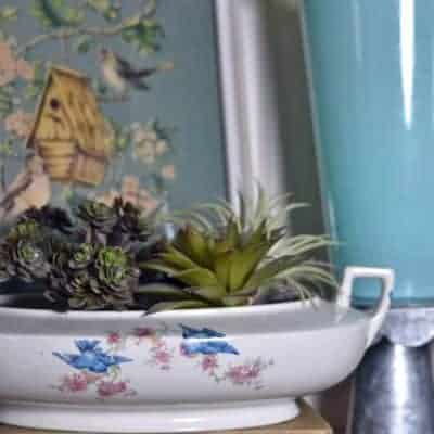 5 Tips for Vignette Theme Building: Bird Themed Decor