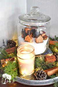 Christmas jar vignette