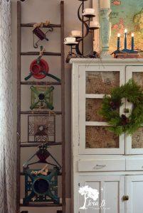 Christmas Tree Stand ladder display