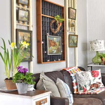 Spring Home Tour with a Garden Theme