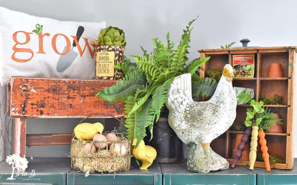 Spring decorating home tour