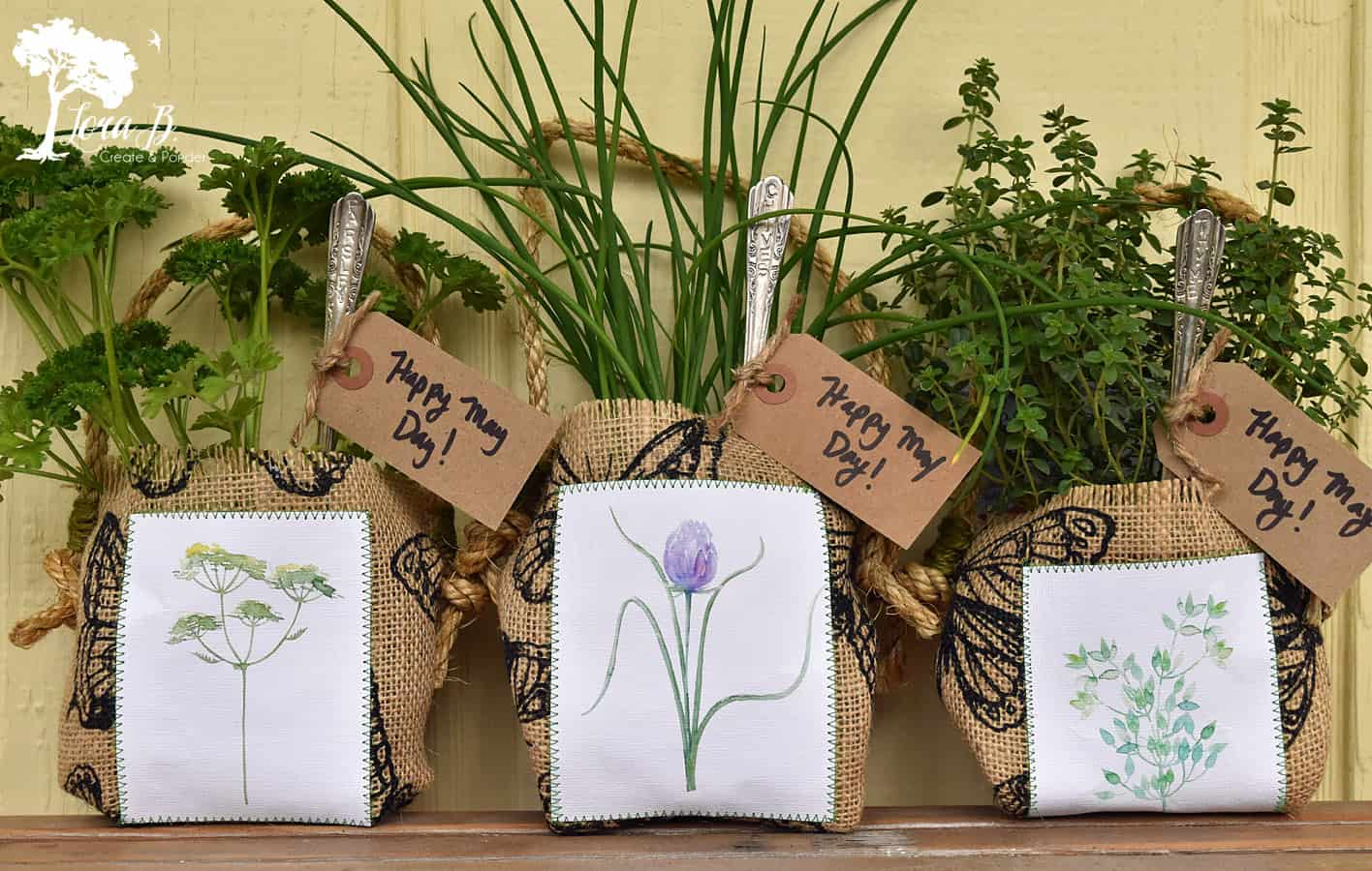 Herb gift bag