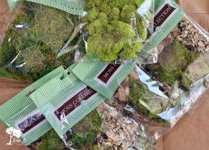 Mixed Moss Grapevine Wreath DIY