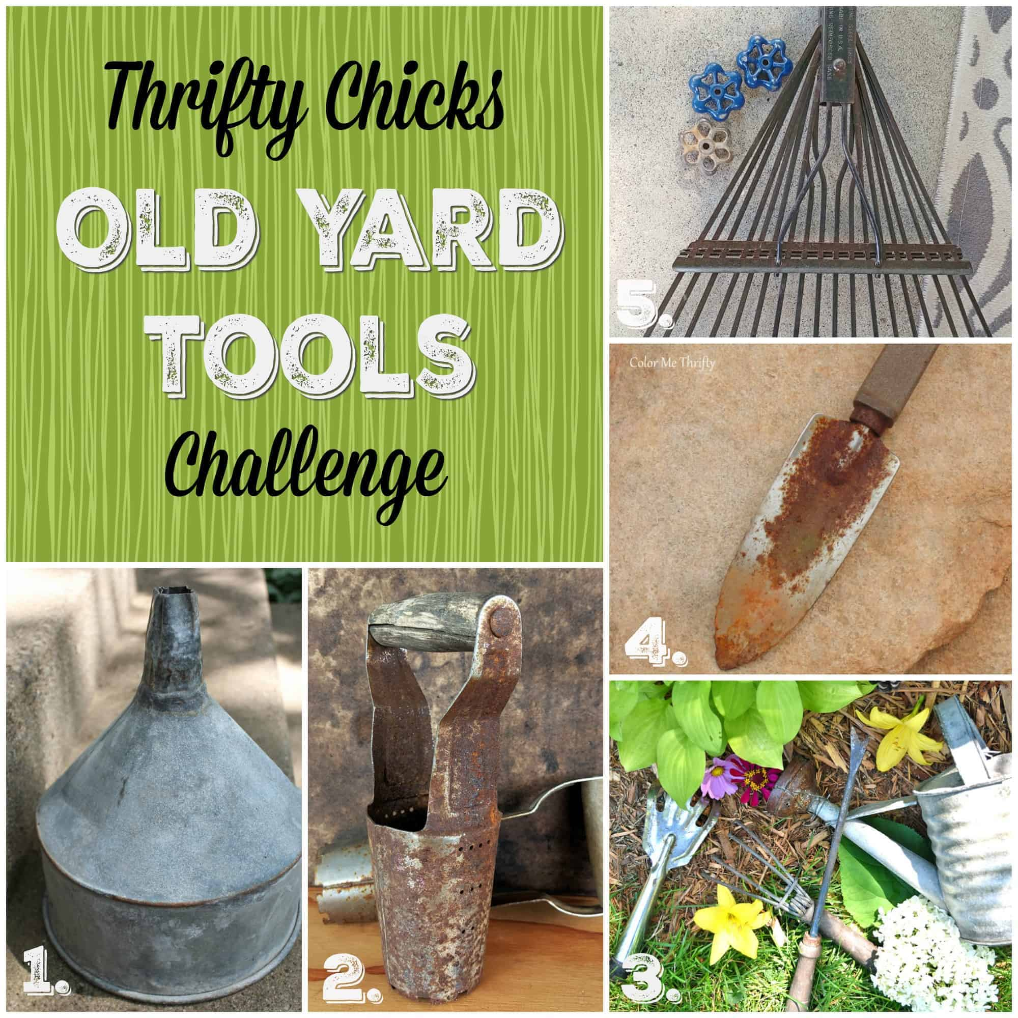 repurposing ideas for old yard tools