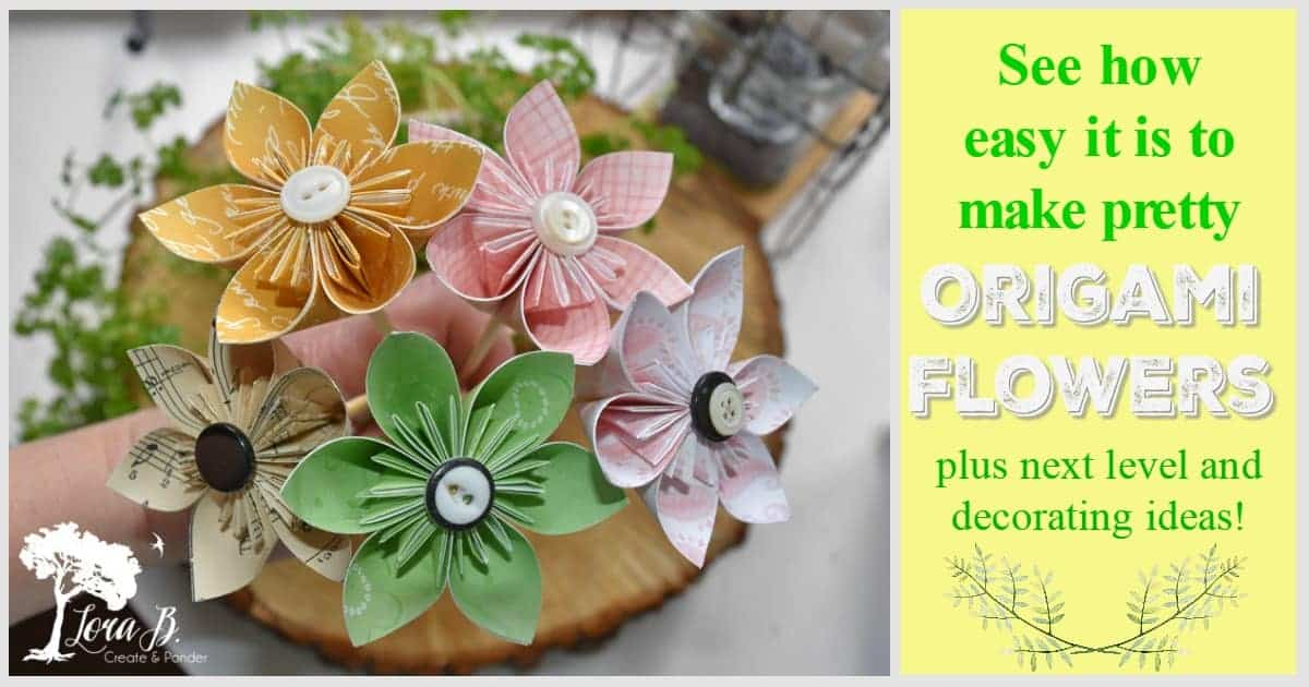 How To Make An Origami Lotus Flower - Folding Instructions ... | 630x1200