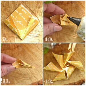 Origami flower how to