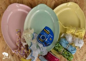 Vintage Oval Platters