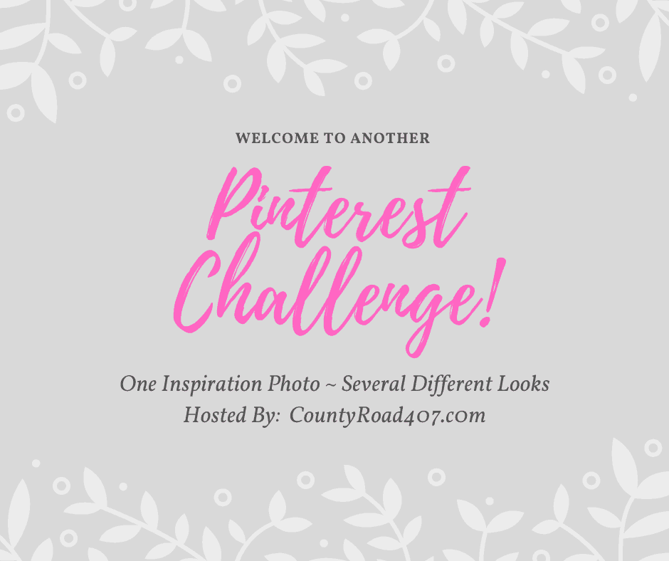 Pinterest challenge graphic